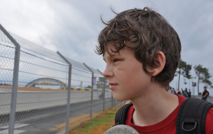 My son Aksel at Le Mans 2010