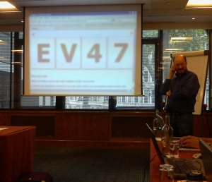 Photo from Rapid Software Testing course in London November 2010 as offered by Electromind